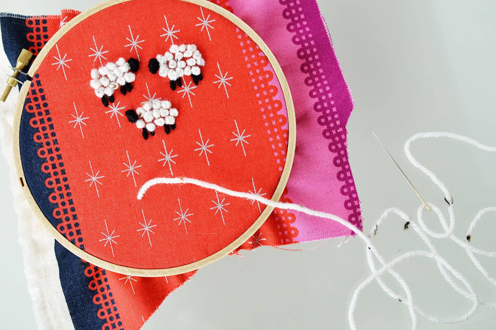 Know-How | Embroidery | French Knot | Motte's Blog