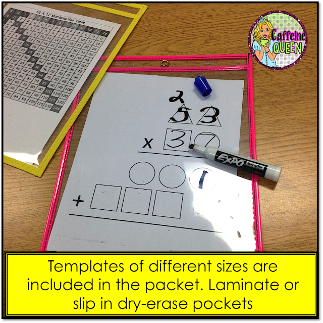 Two digit multiplication strategy - great for math remediation