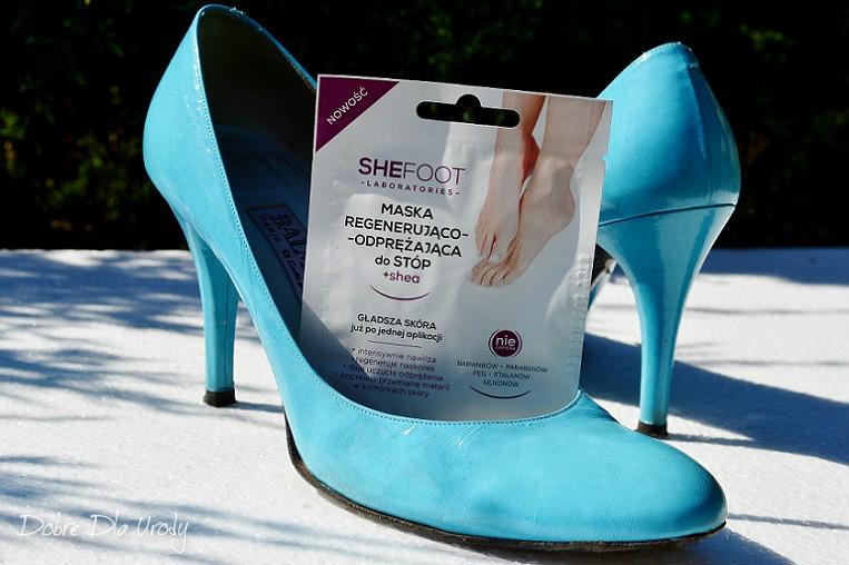 SheFoot kosmetyki do pielęgnacji stóp - maska do stóp