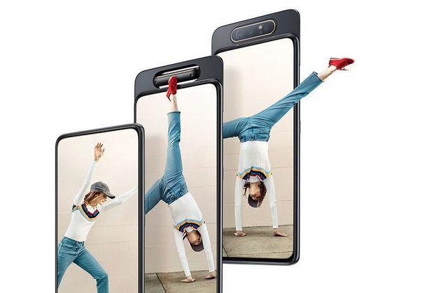 Samsung Galaxy A80 Resmi Meluncur dengan Desain Kamera Berputar