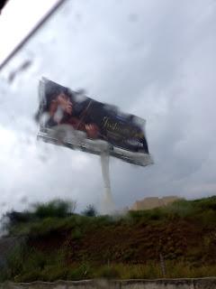 Joshua Bell sign on Costa Rica highway