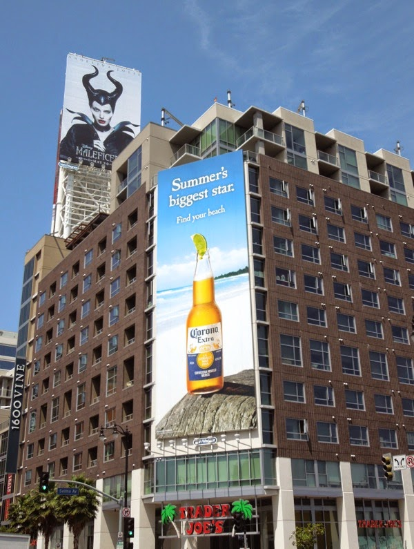 Corona Extra Summer's biggest star billboard