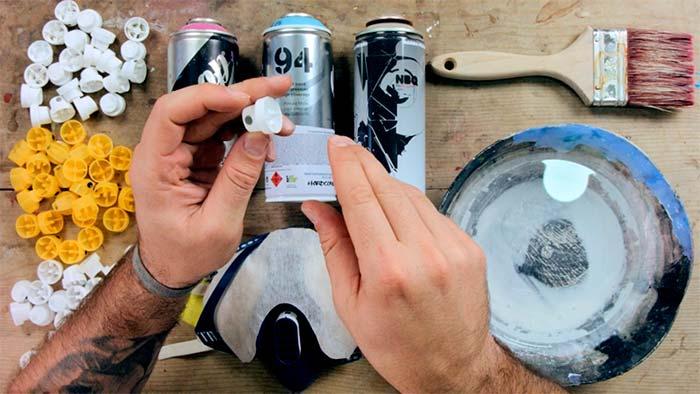 Curso online (arte urbano), Iniciación a la pintura con spray