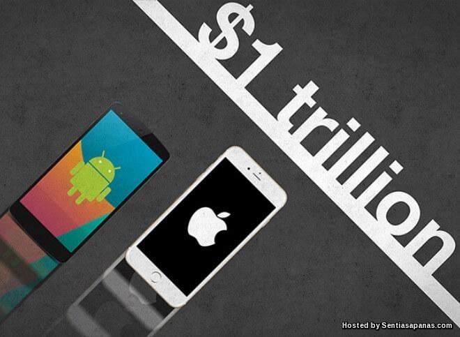 Apple Inc Syarikat Pertama Bernilai AS$1 Trilion