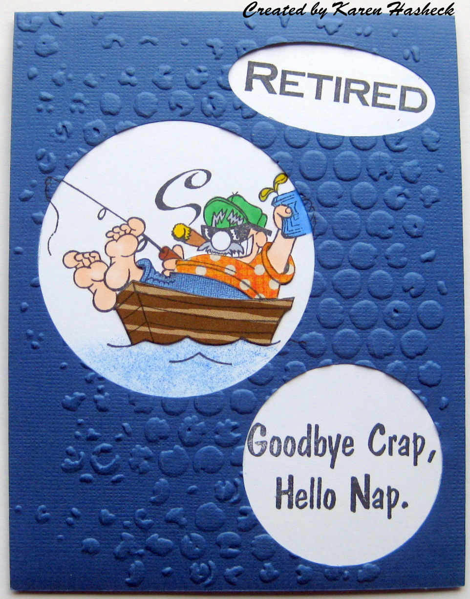 Crackerbox Palace Rubber Stamp Blog Happy Retirement