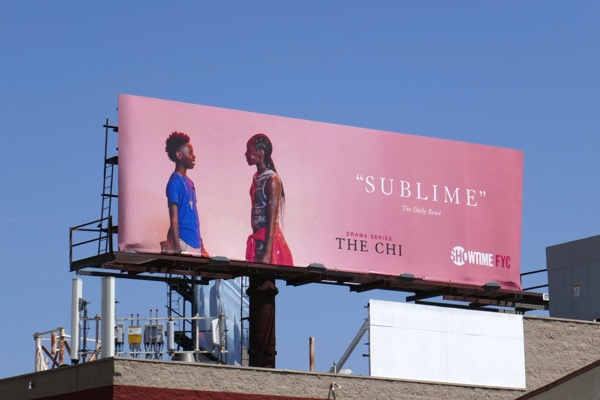 Chi Sublime 2018 Emmy FYC billboard