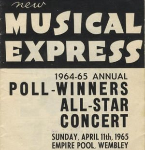 Vintage Video The Complete 1965 Nme Poll Winners Concert