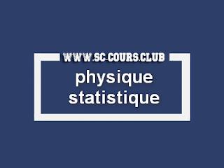 cours physique statistique smp s5 pdf