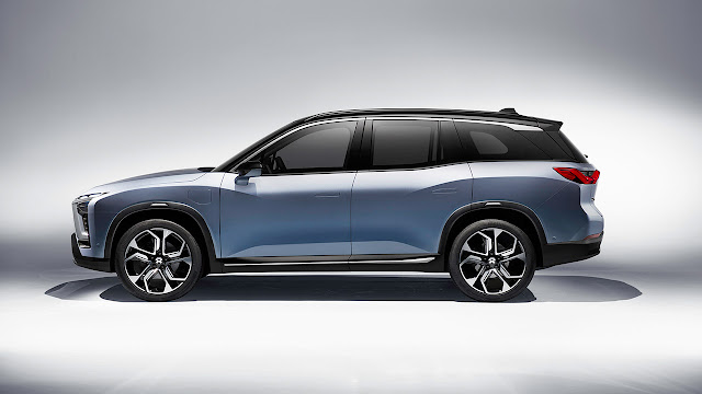 NIO Unveils Production Vehicle for China Market: ES8