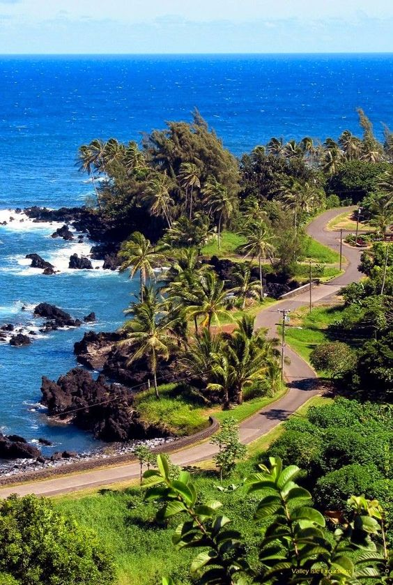 Hana Road, Hawaii, USA