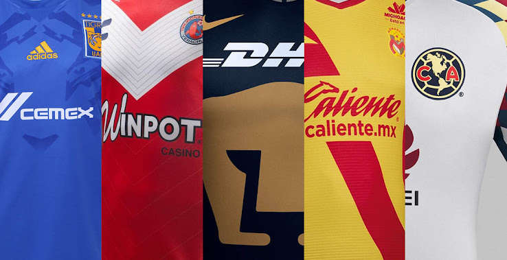 Liga MX Kits Overview All Unique Mexican League Jerseys Footy Headlines
