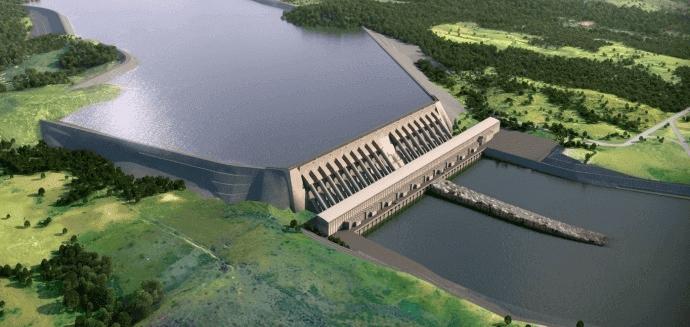 Construção da Hidrelétrica de Belo Monte