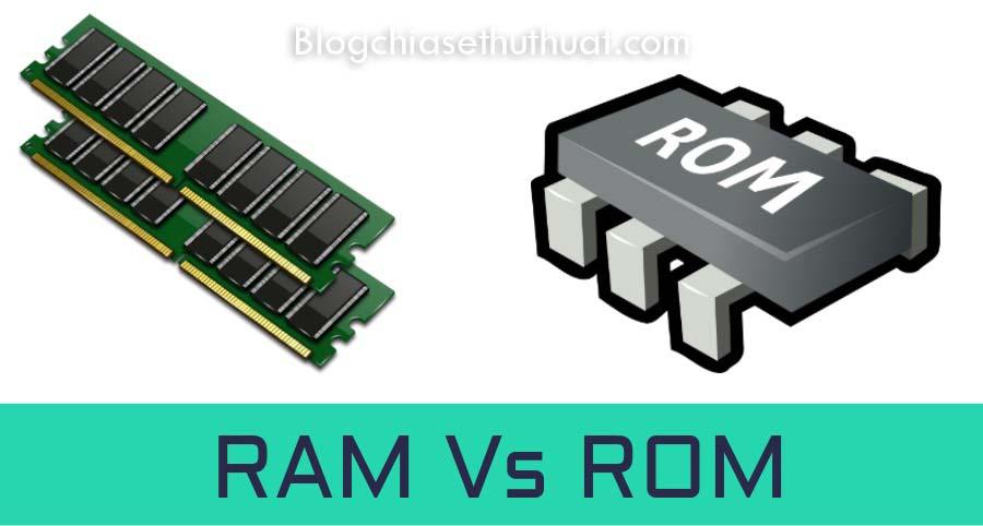ROM là gì ?? RAM là gì ?? Sự nhầm lẫn giữa ROM và RAM