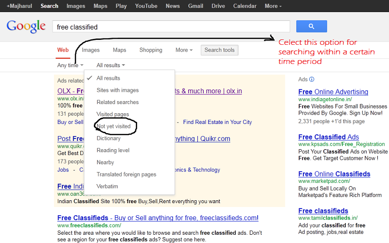 How to Find Classified Site for Ad Posting Job Using Google Search