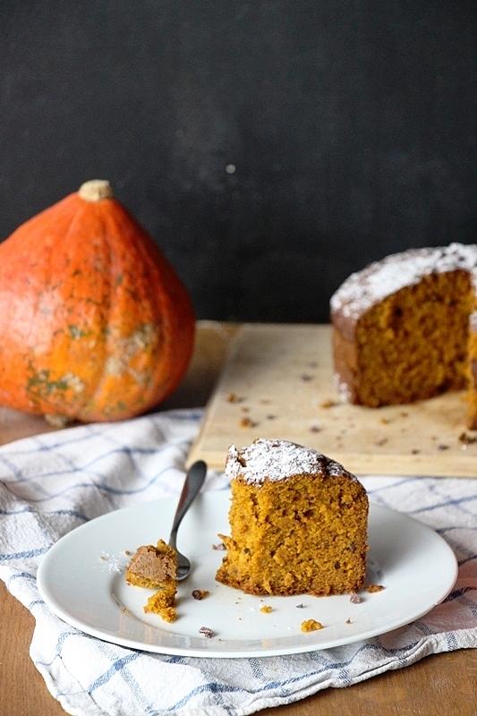 Chai - Kürbis - Kuchen, vegan