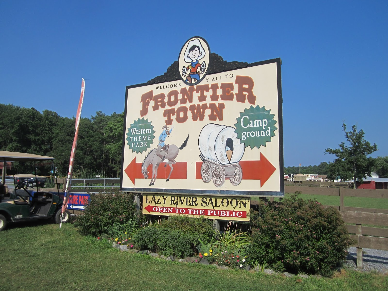 Frontier Town Campground Maryland