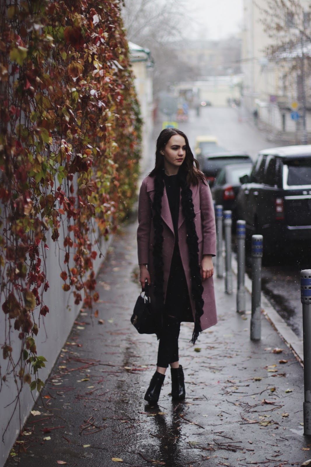 Fashion Blogger   Colorful Coat Outfit