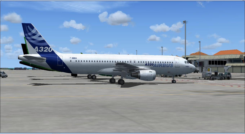 Download Project Airbus A320 CFM-F | Waktu Bersimulasi | Waktu