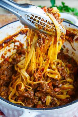 Tagliatelle Short-rib Bolognese