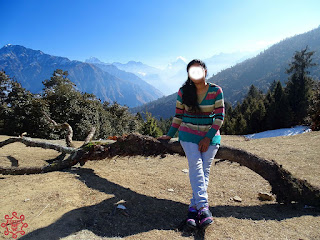 Manisha at Auli