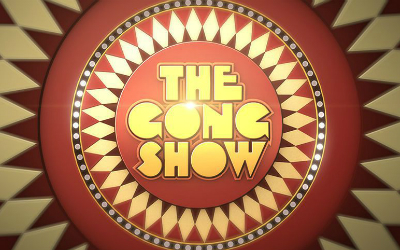 "Review of ABC's revival of ""The Gong Show."""