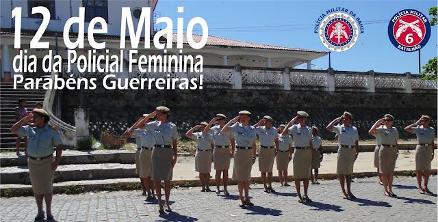 HOMENAGEM AO DIA DA POLICIAL FEMININA
