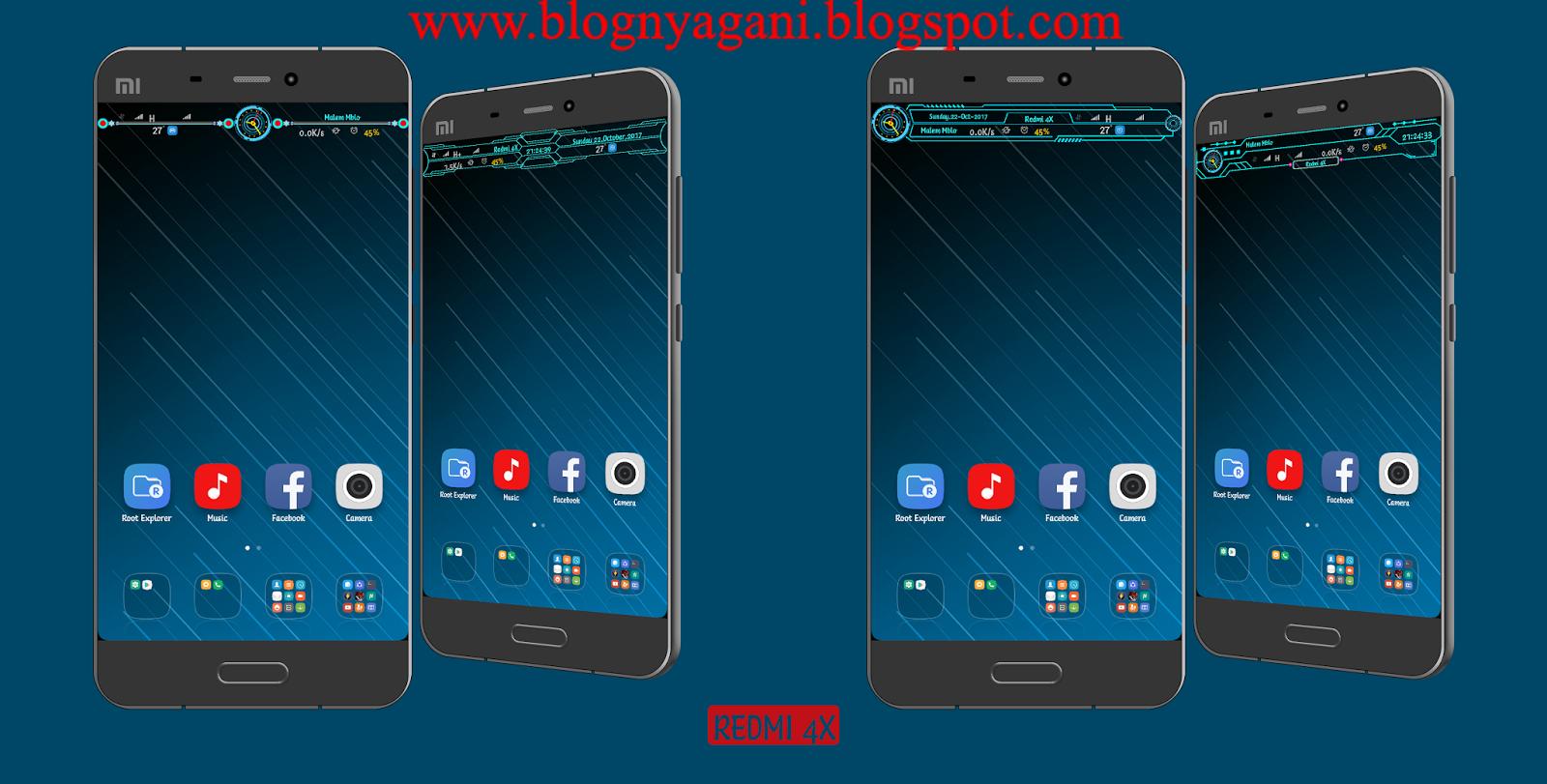 Cara Mod StatusBar Xioami Redmi 4x/4x Prime (SANTONI) MiuiPro 7 11