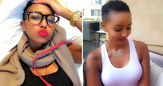 Huddah Monroe says Nigerian Men are not husband materials they are only good for enjoyment