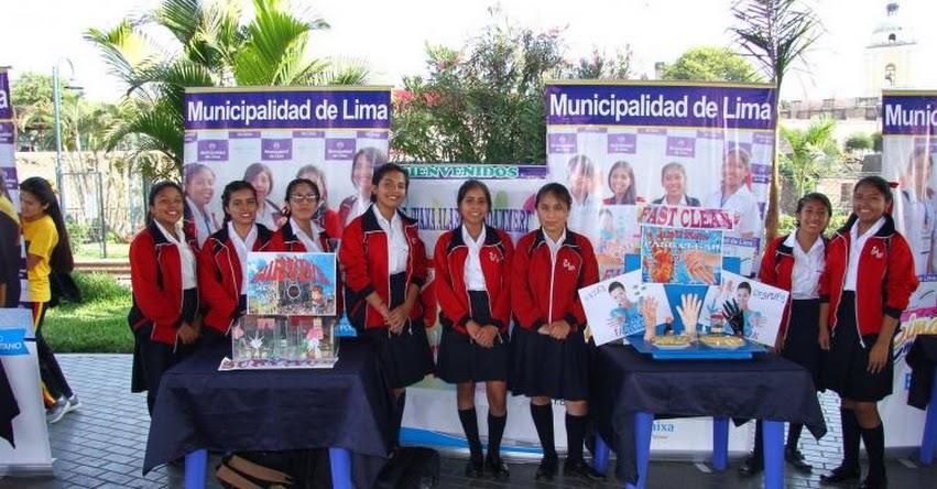 Escolares de colegios de la UGEL 07 son finalistas del concurso Lima Emprende - www.ugel07.gob.pe