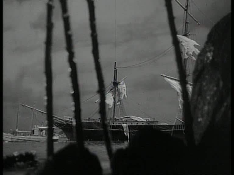 Model Ships In The Cinema Sealed Cargo 1951