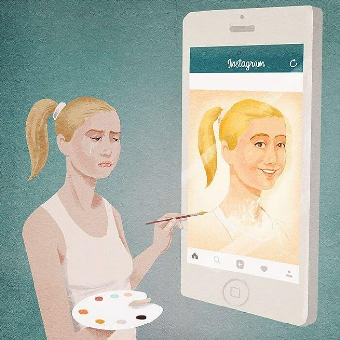 20 Powerful Illustrations Depict The Harsh Truth About Modern Society