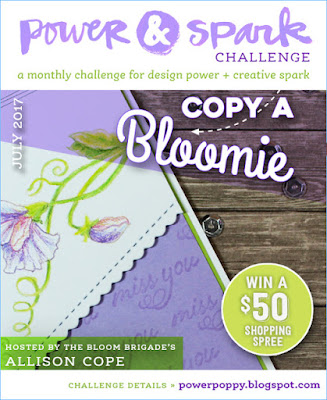 Power Poppy, Power & Spark Challenge July 2017, Allison Cope