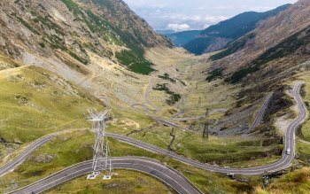 Wallpaper: Romania. Travel. Road. Transfagarasan
