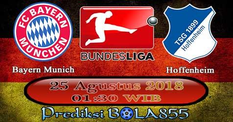 Prediksi Bola855 Bayern Munich vs Hoffenheim 25 Agustus 2018