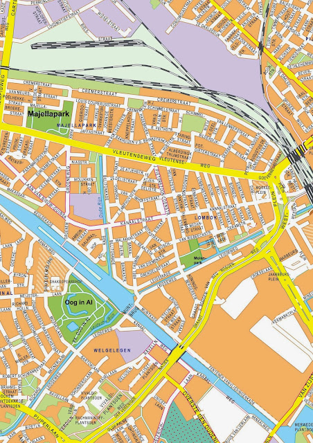 Stadsplattegrond Utrecht map