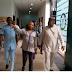 Take A Look At What The Richest Igbo Man, Billionaire Arthur Eze Wore To Visit Enugu Governor (Photos)