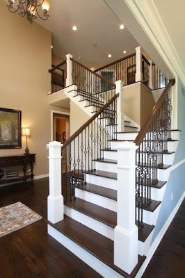 Tangga merupakan elemen vital pada rumah berlantai dua ataupun bangunan tinggi lainnya 30 Ide Desain Terbaik Tangga Rumah Modern Bentuk-L