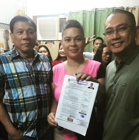 Duterte 'delighted' at Sara's triplets 2