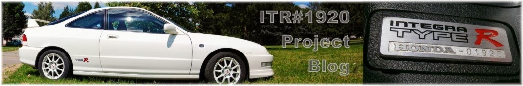 Integra Type R #1920 Project blog