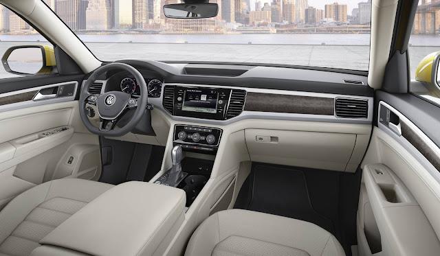 Volkswagen Atlas - SUV - interior