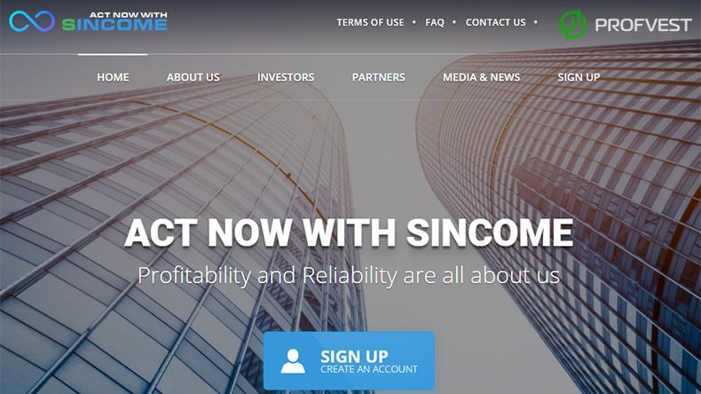 Sincome Bank обзор и отзывы вклад 500$
