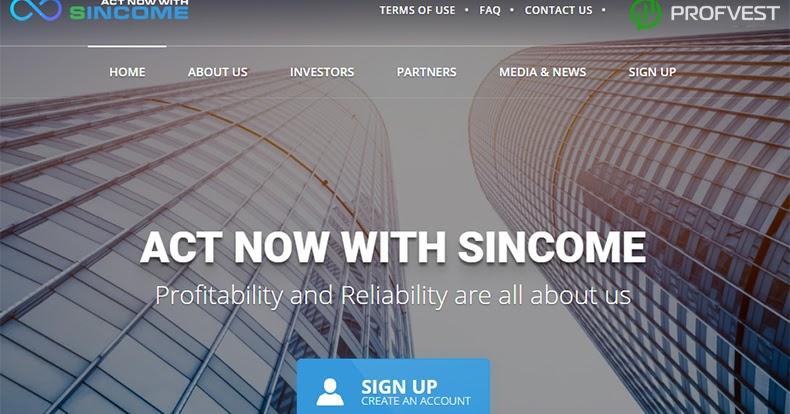 Sincome Bank: обзор и отзывы (СКАМ)
