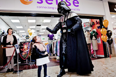 Middlesbrough shopping centre star wars