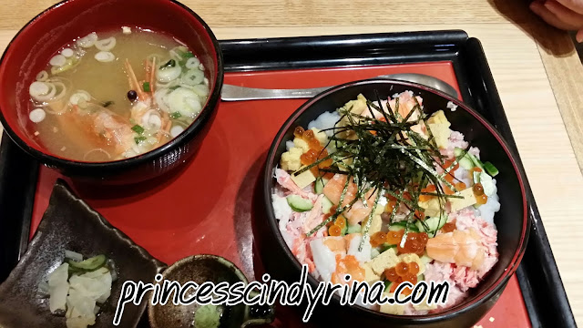 japanese food with soup