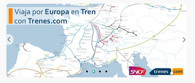 Trenes.com la mejor alternativa a Renfe