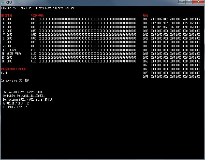 DCPU-16 Emulator in GLB