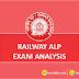 Railway ALP Exam Analysis: 9th August Shift 2