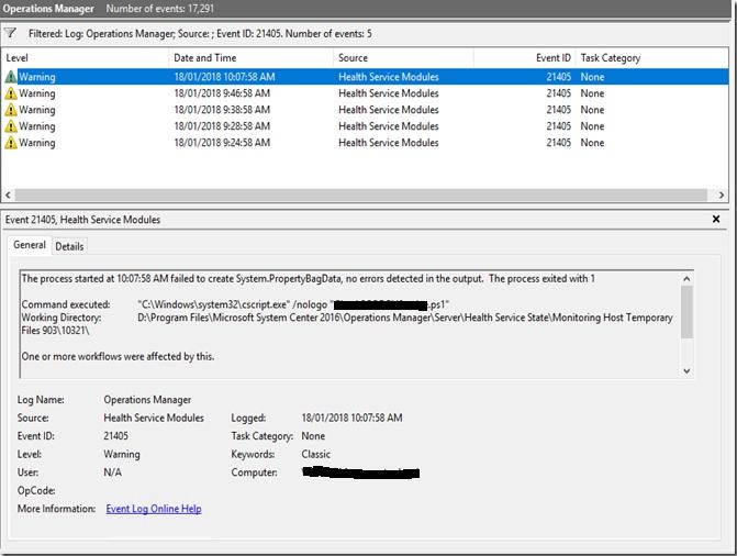 My Systems Center Encounter: SCOM PowerShell Script Monitors