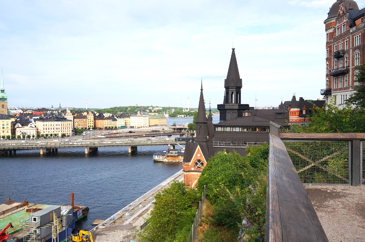 Euriental - fashion and luxury travel. Stockholm, Sweden, View from Monteliusvagen