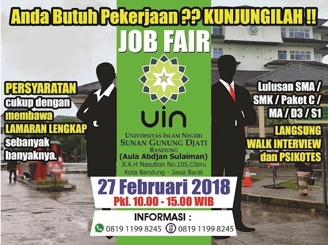 Job Fair di Bandung Timur